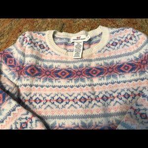 Vineyard Vines Fair Isle Wool Sweater